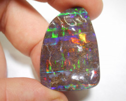 62ct Boulder Opal polished Stone (11693)