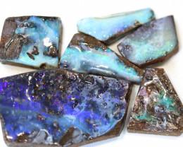 6 = 305cts Australian Boulder Opal Solid Stone ML02075