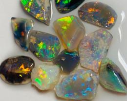 Opal Rubs - Bright Multicolour Rub Opals