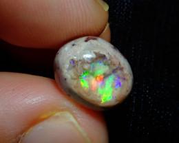 5.46ct Mexican Matrix Cantera Multicoloured Fire Opal