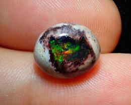 4.57ct Mexican Matrix Cantera Multicoloured Fire Opal