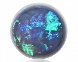 2.36 ct Black Crystal Opal from Lightning Ridge - Australia