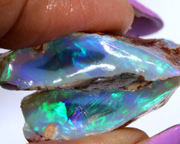 36.69 CTS  BLACK OPAL RUB L.RIDGE PARCEL DT-A2797