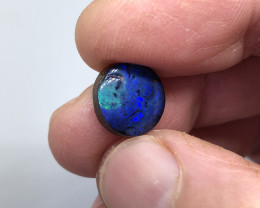 6.6ct Royal Blue Boulder Opal QB1023