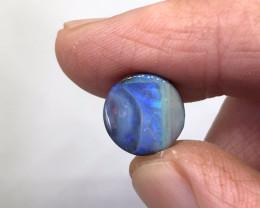 8.4ct Blue Swirl Boulder Opal QB1027