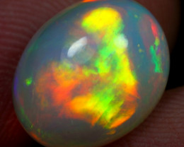 4.55cts Superb Strong Sunset Fire Natural Ethiopian Welo Opal
