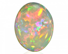 8.11 ct Very Bright Flagstone Welo Opal - Ethiopia