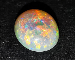 Amazing Reds - High Grade Crystal Opal - Lightning Ridge Australia - 0.78 c