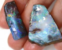 2 = 48cts Australian Boulder Opal Parcel  ML02060