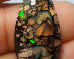 14.20CTS  YOWAH OPAL WITH AMAZING PATTERN  BJ291