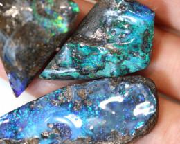 3 = 170cts Australian Boulder Opal Parcel ML02063