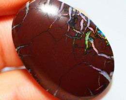 31.15CTS  YOWAH OPAL WITH AMAZING PATTERN  BJ307