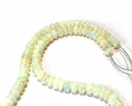 Gem Quality Natural Ethiopian Crystal Opal Necklace ML02099
