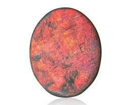 5.58 ct Bright Red Lightning Ridge Opal - Australia