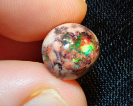 5.71ct Mexican Matrix Cantera Multicoloured Fire Opal