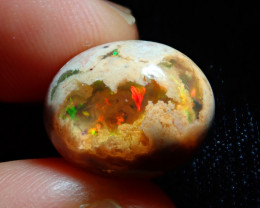 10.58ct Mexican Matrix Cantera Multicoloured Fire Opal