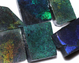 303.95 CTS ANDAMOOKA MATRIX ROUGH SLABS-DIFFERENT PATTERN [BY9555]