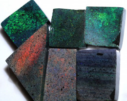 290.24 CTS ANDAMOOKA MATRIX ROUGH SLABS-DIFFERENT PATTERN [BY9563]
