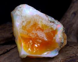 Welo Rough 22.62Ct Natural Ethiopian Play Of Color Rough Opal E1311