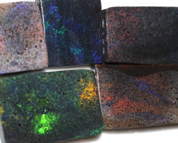169.15 CTS ANDAMOOKA MATRIX ROUGH SLABS-DIFFERENT PATTERN [BY9577]