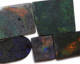 277.30 CTS ANDAMOOKA MATRIX ROUGH SLABS-DIFFERENT PATTERN [BY9578]