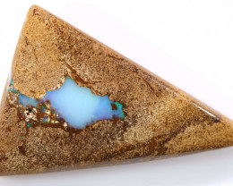 20.90 CTS BOULDER OPAL WOOD REPLACEMENT NC-8027