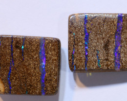 23.13 carats POLISHED BOULDER OPAL PAIRS ANO-892