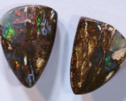 5.86 carats POLISHED BOULDER OPAL PAIRS ANO-899