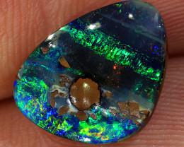 3.6ct 12.5x10mm Queensland Boulder Opal  [LOB-3450]