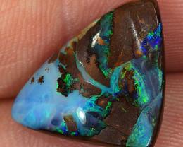 7.1ct 15x13mm Queensland Boulder Opal  [LOB-3454]