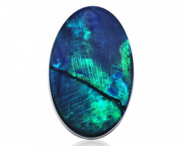 8.64 ct Black Opal from Lightning Ridge - Australia