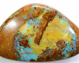 30.20CTS BOULDER PIPE CRYSTAL FOSSIL POLISHED STONE NC-8049
