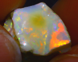 9.60Ct Multi Color Play Ethiopian Welo Opal Rough J2008/R2