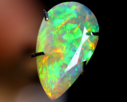 1.70cts TOP GRADE Natural Faceted Ethiopian Welo Opal / BF2981