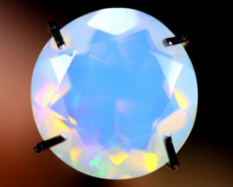 1.47cts WaterClear Natural Faceted Ethiopian Welo Opal / BF2999