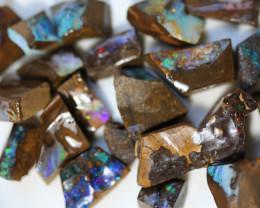 20 = 290cts Australian Boulder Opal Parcel ML02100