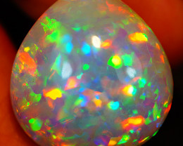 32.50 CT PATCHWORK PATTERN!! RARE MULTI COLOR WELO ETHIOPIAN OPAL-JAA307