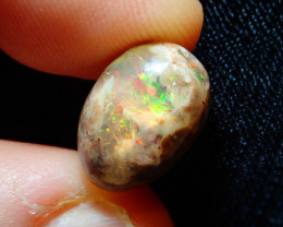 5.5ct Mexican Matrix Cantera Multicoloured Fire Opal