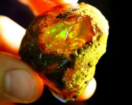 166cts Ethiopian Crystal Rough Specimen Rough / CR1721