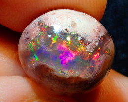 9.14ct Mexican Matrix Cantera Multicoloured Fire Opal