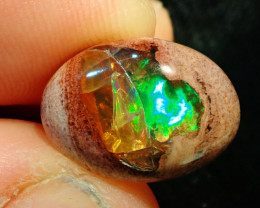5.37ct Mexican Matrix Cantera Multicoloured Fire Opal