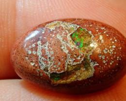 6.6ct Mexican Matrix Cantera Multicoloured Fire Opal