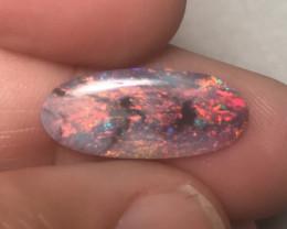 2.64 cts Black Crystal Opal - Lightning Ridge