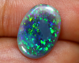1.51Ct Australian Lightning Ridge Dark Opal E2208