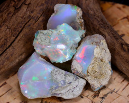 Welo Rough 41.68Ct Natural Ethiopian Play Of Color Rough Opal D2311