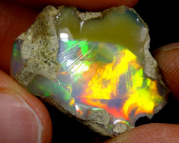 15cts Natural Ethiopian Welo Rough Opal / WR3551