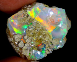 17cts Natural Ethiopian Welo Rough Opal / WR3535