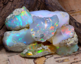 Welo Rough 48.41Ct Natural Ethiopian Play Of Color Rough Opal D2404