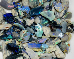 340 CTS COLOURFUL POTENTIAL ROUGH OPALS TO GAMBLE #1209