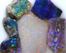 22.60 CTS BLACK OPAL RUBS PRE FACED PARCEL [BR7917]